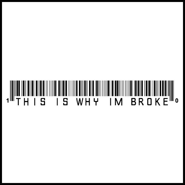 Thisiswhyimbroke logo